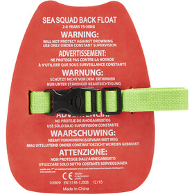 speedo Sea Squad Back Float Jungs lava red